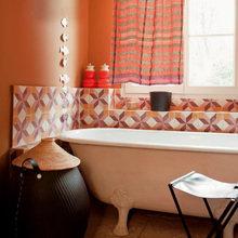 Фотография: Ванная в стиле Кантри, Классический, Современный, Декор интерьера, Квартира, Дома и квартиры, Прованс – фото на InMyRoom.ru