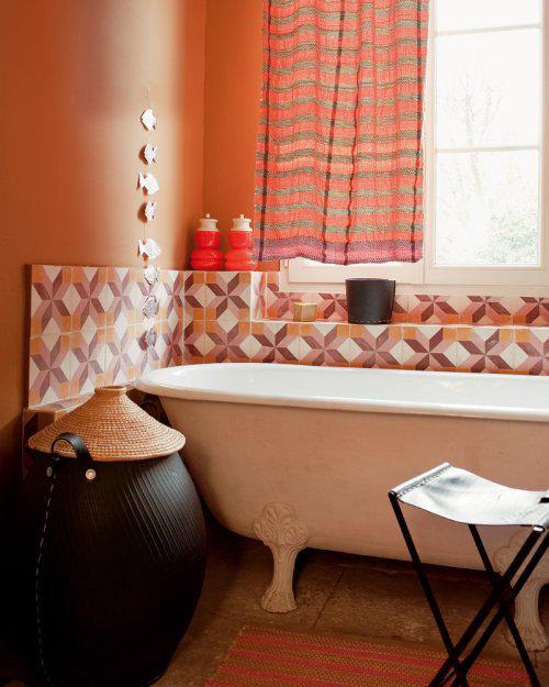 Фотография: Ванная в стиле Прованс и Кантри, Классический, Современный, Декор интерьера, Квартира, Дома и квартиры, Прованс – фото на InMyRoom.ru