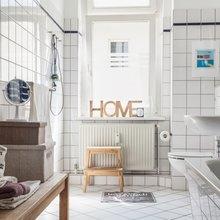 Фотография: Ванная в стиле Скандинавский, Советы, Haier – фото на InMyRoom.ru