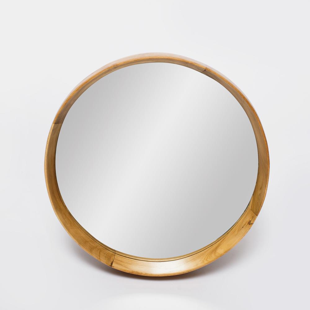 Купить Настенное зеркало круглое Teak&Amp;Water Hasta 40 , inmyroom, Индонезия