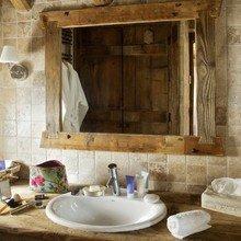 Фотография: Ванная в стиле Кантри, Дом, Дома и квартиры, Шале, Дом на природе – фото на InMyRoom.ru