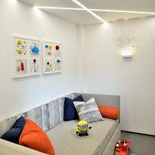 Фотография: Детская в стиле Минимализм, Квартира, Проект недели, Эко, Челябинск, новостройка, двухэтажная квартира, Юлия Фалькова, «Любимый дом», Монолитный дом, 2 комнаты, Более 90 метров – фото на InMyRoom.ru