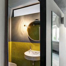 Фотография: Ванная в стиле Современный, Малогабаритная квартира, Квартира, Дома и квартиры, Москва – фото на InMyRoom.ru
