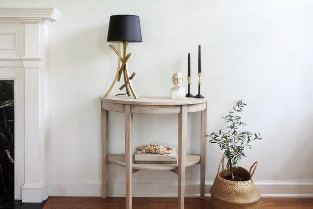Фотография: Гостиная в стиле Скандинавский, DIY, переделка старой мебели фото – фото на INMYROOM