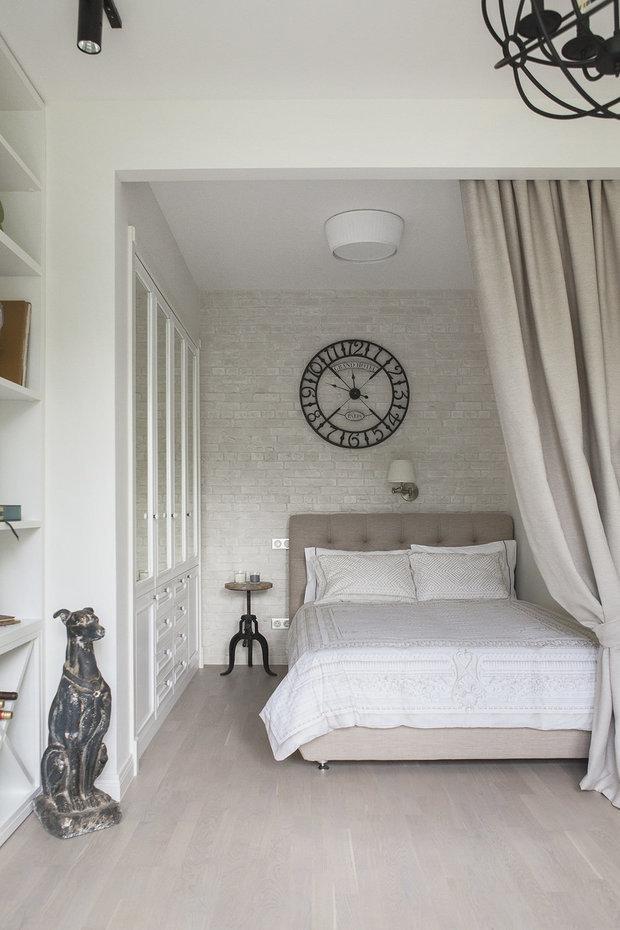 Фотография: Спальня в стиле Эклектика, Лофт, Современный, Декор интерьера, Квартира, Мария Дадиани – фото на INMYROOM