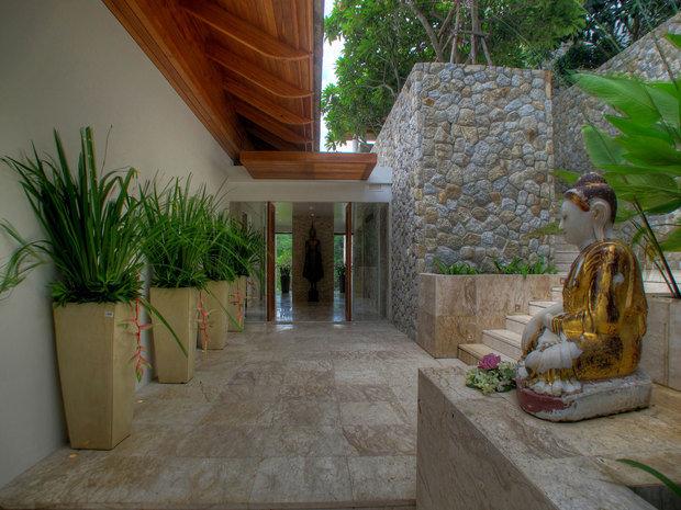 Фотография: Ландшафт в стиле Современный, Восточный, Дом, Дома и квартиры – фото на INMYROOM