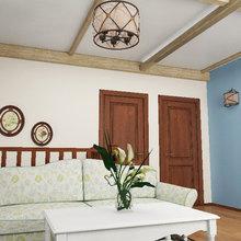 Фото из портфолио Интерьер 2-го этажа загородного дома – фотографии дизайна интерьеров на INMYROOM