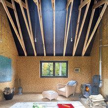 Фото из портфолио Таинственная избушка в бельгийском лесу – фотографии дизайна интерьеров на InMyRoom.ru