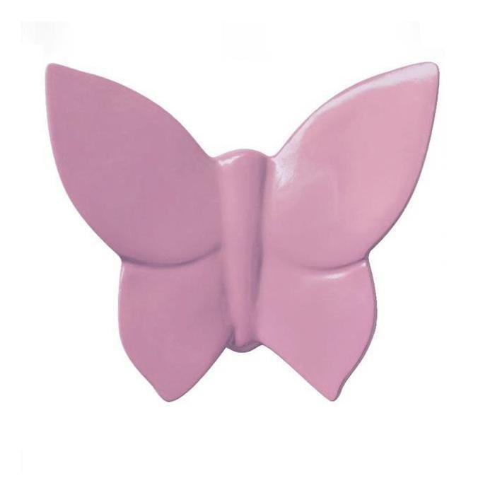 Декоративная бабочка Butterly (розовая)