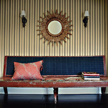 Фотография: Мебель и свет в стиле Восточный, Эклектика, Дом, Цвет в интерьере, Дома и квартиры – фото на InMyRoom.ru