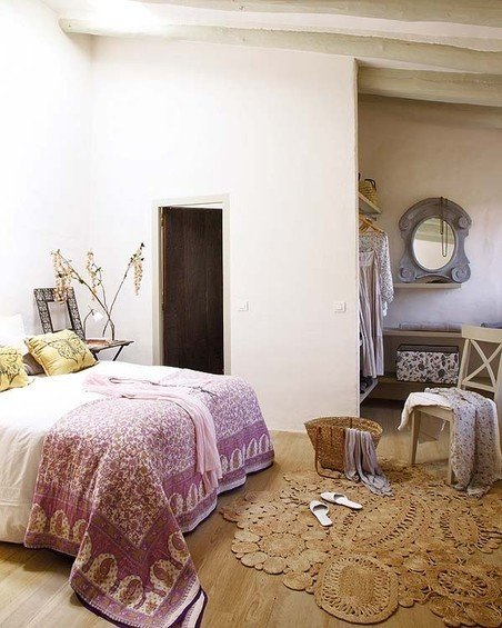 Фотография: Спальня в стиле Прованс и Кантри, Дом, Дома и квартиры, Балки – фото на InMyRoom.ru