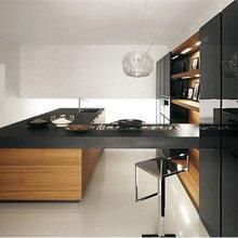 Фотография: Кухня и столовая в стиле Минимализм, Классический, Интерьер комнат, Мебель и свет – фото на InMyRoom.ru