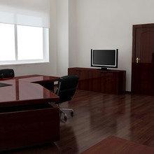 Фото из портфолио Московский офис – фотографии дизайна интерьеров на INMYROOM