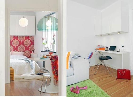 Фотография: Прихожая в стиле Прованс и Кантри, Малогабаритная квартира, Квартира, Дома и квартиры – фото на InMyRoom.ru