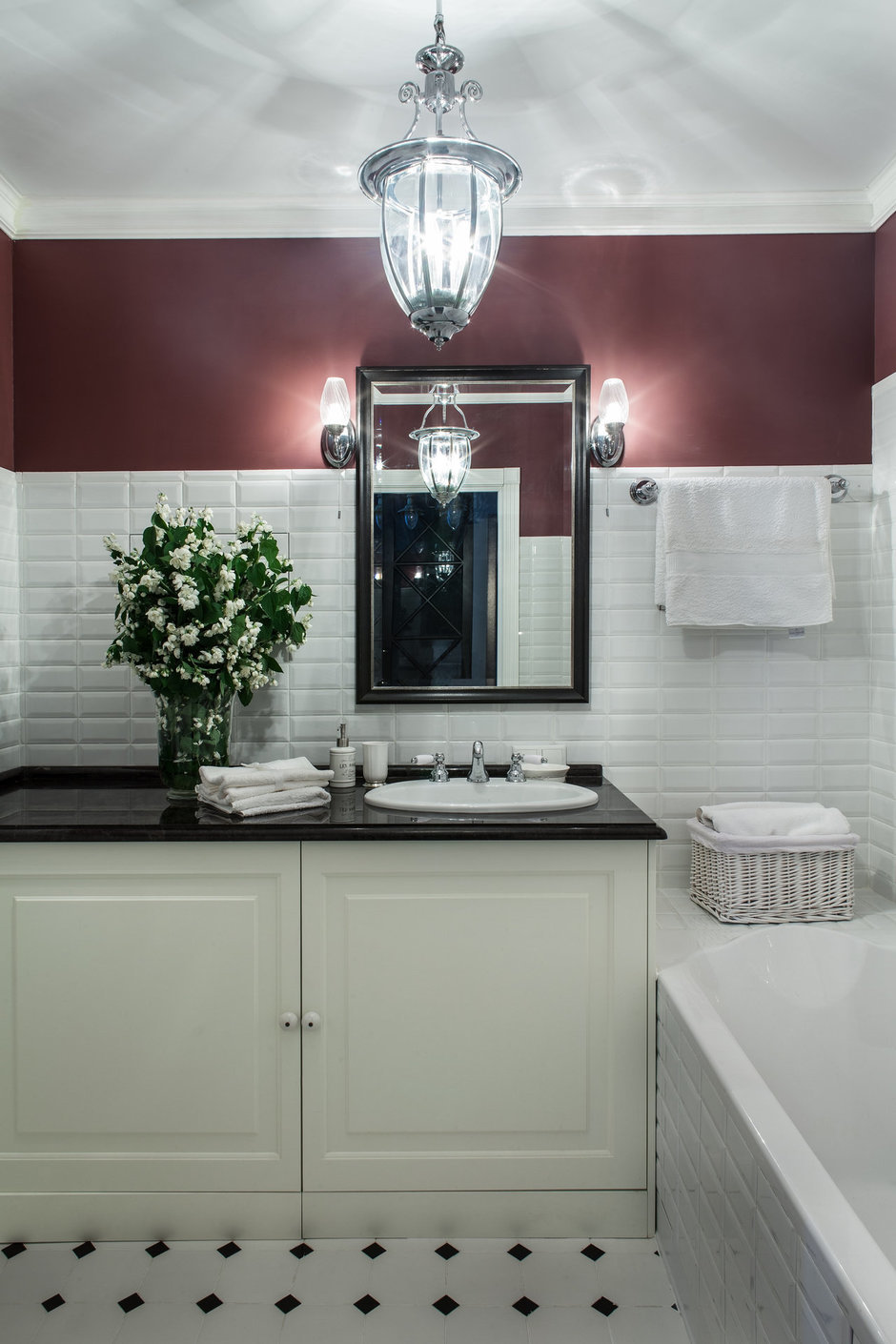 Фотография: Ванная в стиле Современный, Декор интерьера, Квартира, Дома и квартиры, Прованс – фото на InMyRoom.ru