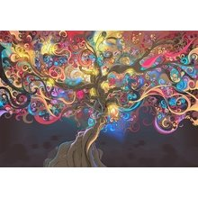 """Дизайнерская картина на холсте: """"Дерево жизни"""""""