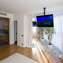 Фотография: Спальня в стиле Современный, Эко, Квартира, Дома и квартиры, Москва – фото на InMyRoom.ru