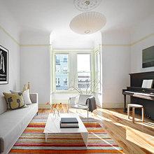 Фотография: Гостиная в стиле Скандинавский, Современный, Декор интерьера, Мебель и свет – фото на InMyRoom.ru