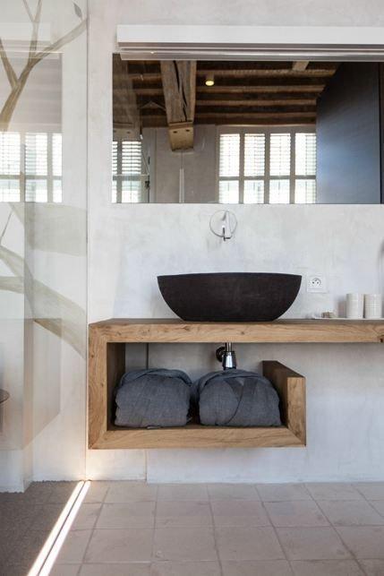 Фотография: Ванная в стиле Лофт, Декор интерьера, Дизайн интерьера, Цвет в интерьере – фото на InMyRoom.ru