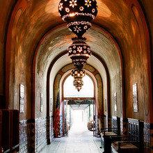 Фотография: Декор в стиле Восточный, Декор интерьера, Дом, Декор дома, Цвет в интерьере – фото на InMyRoom.ru