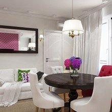 Фото из портфолио Кухня-гостиная в современном легком стиле – фотографии дизайна интерьеров на InMyRoom.ru