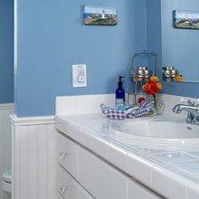 Фотография: Ванная в стиле Скандинавский, Современный, Интерьер комнат – фото на InMyRoom.ru