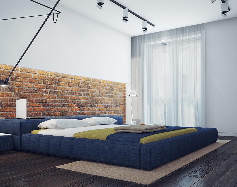 Фотография: Спальня в стиле Лофт, Современный, Декор интерьера, Квартира, Декор, Мебель и свет, Проект недели – фото на InMyRoom.ru