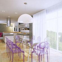 Фото из портфолио Дизайн интерьера двухэтажной квартиры в элитном комплексе Aleksandra Apartments – фотографии дизайна интерьеров на InMyRoom.ru