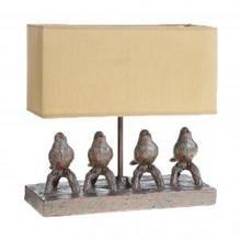 Настольная лампа RESIN BIRD