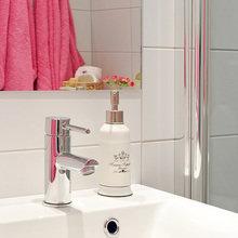 Фотография: Ванная в стиле Современный, Скандинавский, Малогабаритная квартира, Квартира, Швеция, Дома и квартиры – фото на InMyRoom.ru
