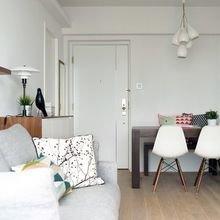 Фотография: Гостиная в стиле Скандинавский, Декор интерьера, Малогабаритная квартира, Квартира, Декор – фото на InMyRoom.ru