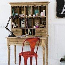 Фотография: Кабинет в стиле Кантри, Декор интерьера, Мебель и свет – фото на InMyRoom.ru