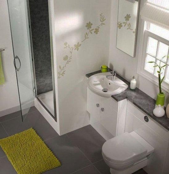 Фотография: Ванная в стиле Современный, Малогабаритная квартира, Квартира, Индустрия, События – фото на InMyRoom.ru