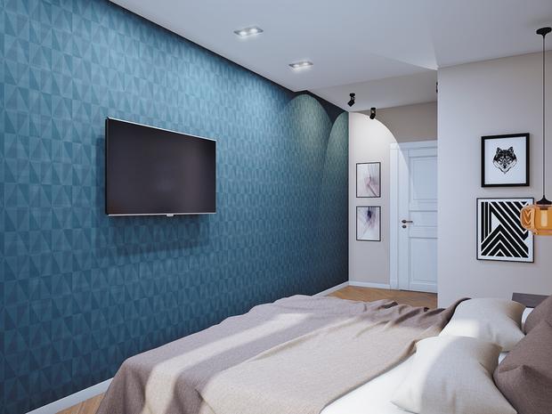 Фотография: Спальня в стиле Лофт, Современный, Классический, Квартира, Планировки, Мебель и свет, Проект недели – фото на InMyRoom.ru