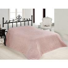 Покрывало махровое бамбуковое RAVENNA 220х240 розовое