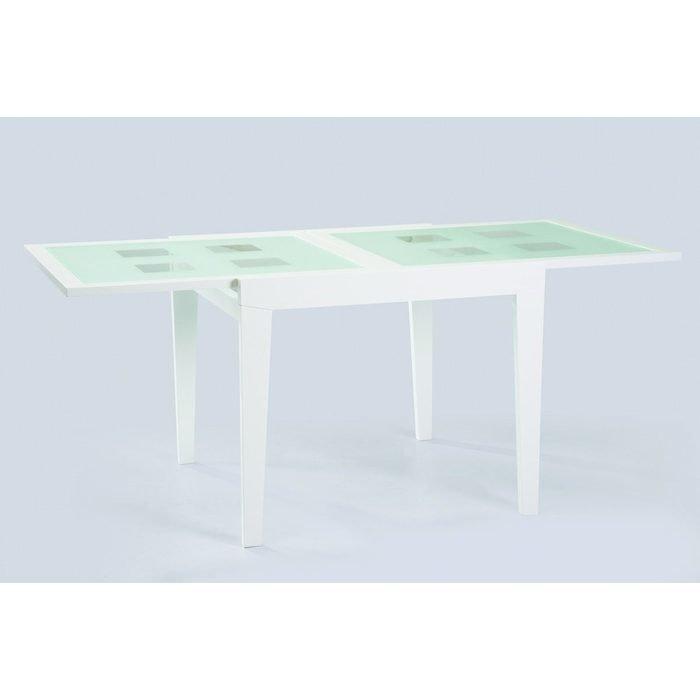 Раздвижной обеденный стол Benson со столешницей из закаленного стекла