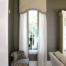 Фотография: Гостиная в стиле Кантри, Декор интерьера, Текстиль, Окна – фото на InMyRoom.ru