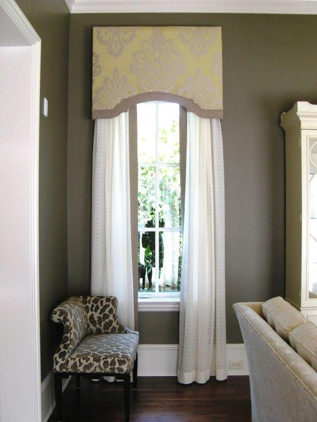 Фотография: Гостиная в стиле Прованс и Кантри, Декор интерьера, Текстиль, Окна – фото на InMyRoom.ru