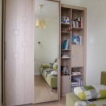 Фото из портфолио Геометрия и цвет. Маленькая квартира – фотографии дизайна интерьеров на INMYROOM