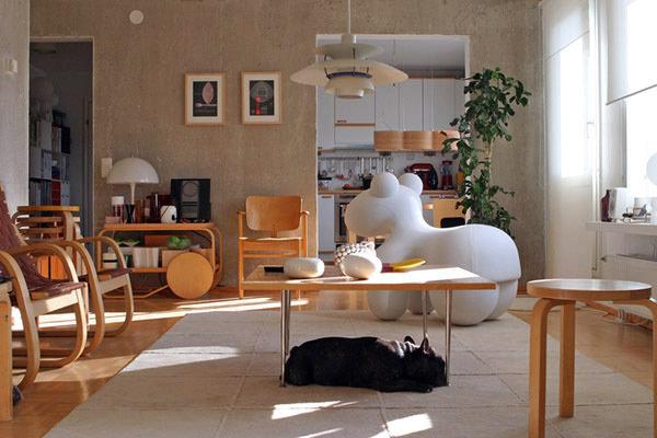 Фотография: Гостиная в стиле Современный, Декор интерьера, Eero Aarnio, Мебель и свет – фото на InMyRoom.ru