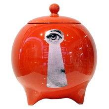 Декоративная ваза с крышкой La Chiave Red I