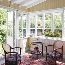 Фотография: Мебель и свет в стиле Кантри, Балкон, Интерьер комнат – фото на InMyRoom.ru