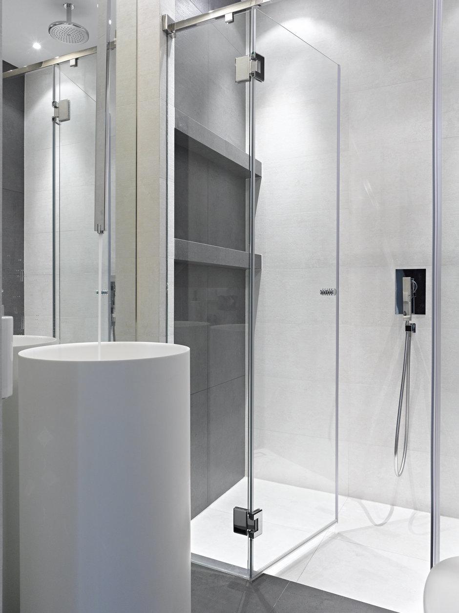 Фотография: Ванная в стиле Лофт, Дом, Дома и квартиры, Минимализм, Проект недели, Эко – фото на InMyRoom.ru