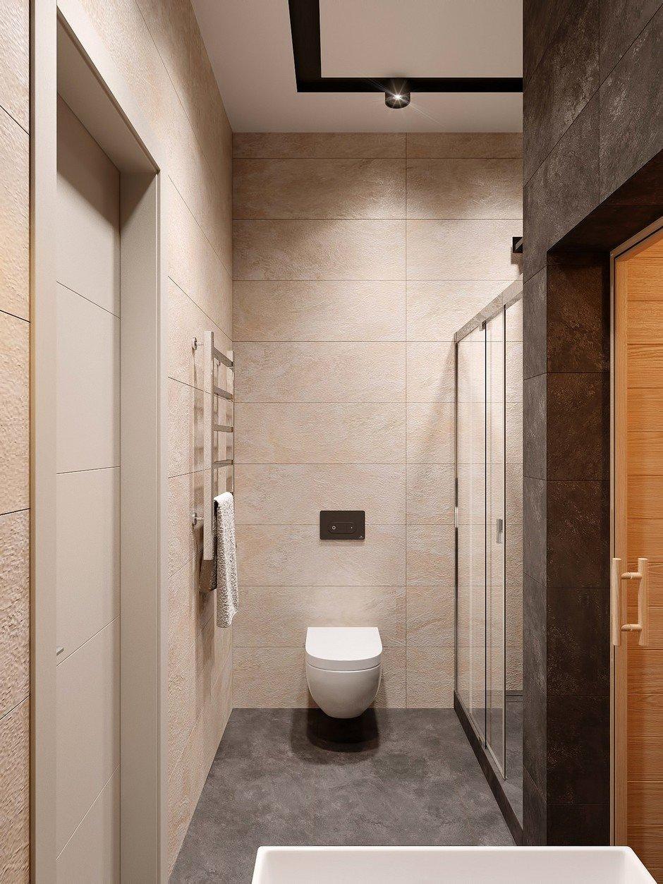 Фотография: Ванная в стиле Современный, Miele, Проект недели, 2 комнаты – фото на InMyRoom.ru