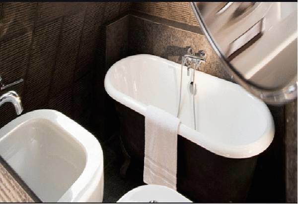 Фотография: Ванная в стиле Современный, Эклектика, Индустрия, Люди – фото на InMyRoom.ru