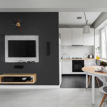 Фотография: Кухня и столовая в стиле Современный, Малогабаритная квартира, Квартира, Дома и квартиры, IKEA, Проект недели – фото на InMyRoom.ru