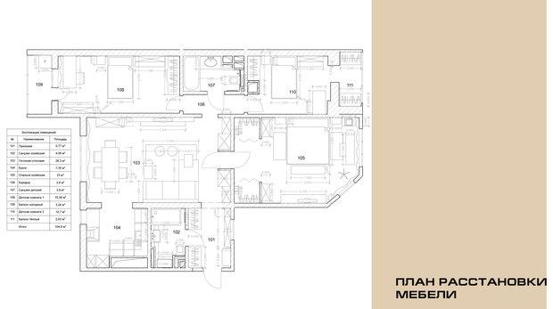 Фото из портфолио Квартира в стиле Ар Деко, 104,8 м.кв., г. Москва – фотографии дизайна интерьеров на INMYROOM