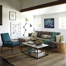 Фотография: Гостиная в стиле Кантри, Лофт, Декор интерьера, DIY, Эко – фото на InMyRoom.ru