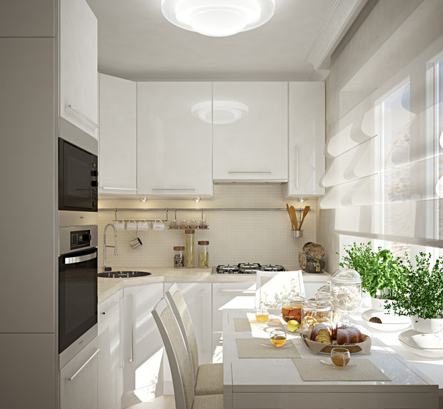 Фотография: Кухня и столовая в стиле Современный, Советы, Finnish – фото на InMyRoom.ru