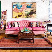 Фотография: Гостиная в стиле , Стиль жизни, Советы, Постеры, Винтаж – фото на InMyRoom.ru